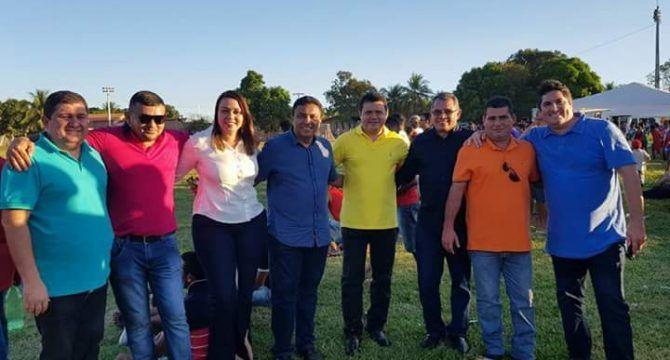 Rigo Teles participou de eventos em Itaipava, Formosa e São Pedro dos Crentes