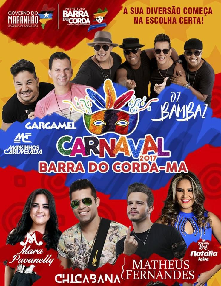 16195677 1584232814936929 7240160064613862866 n - CAPITAL DO CARNAVAL: Prefeitura de Barra do Corda abre amanhã sexta-feira o carnaval 2017 - minuto barra