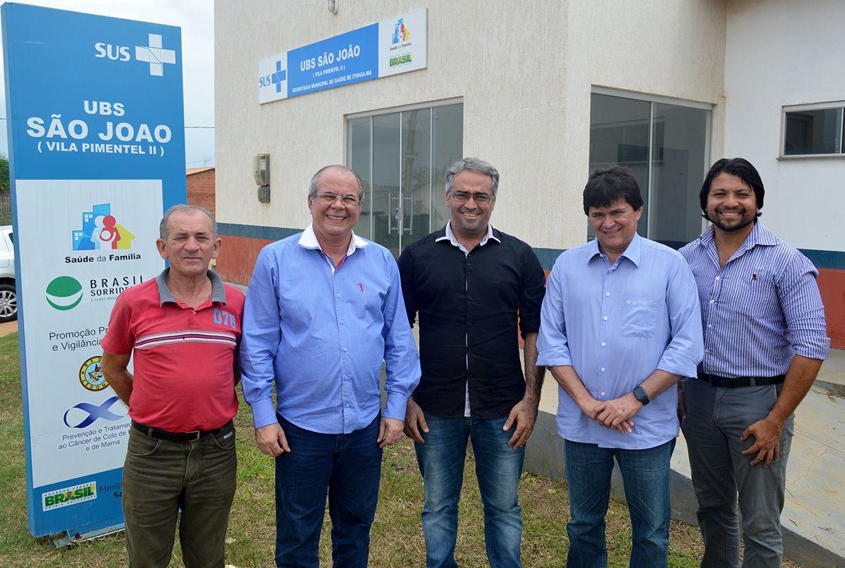 FOTO 04 ITINGA VISITA VISITA UBS - Hildo Rocha articula ações para Imperatriz, Itinga e Açailândia - minuto barra