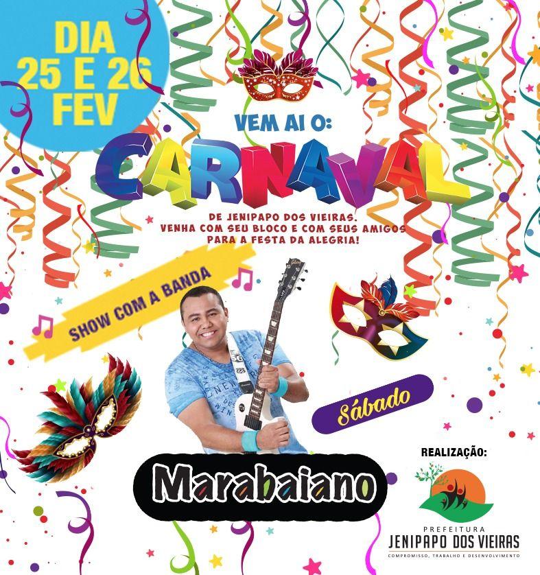 IMG 20170221 WA0013 - Prefeitura de Jenipapo dos Vieiras, se prepara para promover um grande carnaval - minuto barra