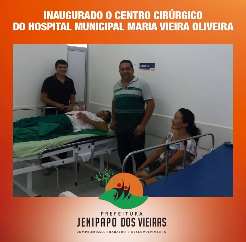 16939178 275898426165729 3461512575487699375 n - Prefeito Moisés inaugura centro cirúrgico em Jenipapo dos Vieiras - minuto barra