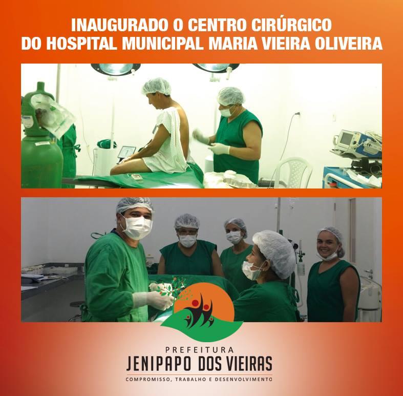 17021633 275898472832391 2447410061502311565 n - Prefeito Moisés inaugura centro cirúrgico em Jenipapo dos Vieiras - minuto barra