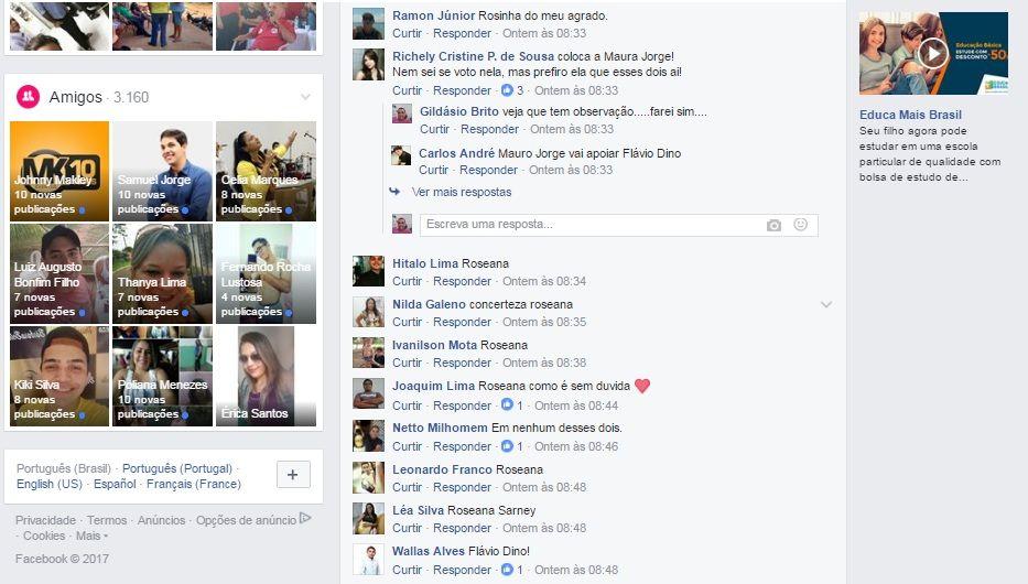 enquetevotos2 - Roseana massacra Flávio Dino em enquete na região central - minuto barra