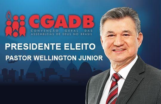540x350 jwj eleito - Pastor Wellington Junior é eleito presidente da Assembleia de Deus no Brasil - minuto barra
