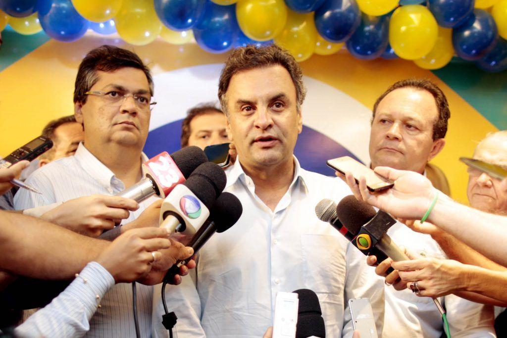 09 05 14 Aecio Neves Sao Luis 1 1024x683 - Aécio diz que PSDB não vai fechar com Flávio Dino - minuto barra