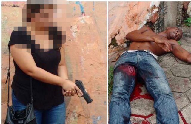 photo 9 640x416 - Mulher reage a assalto e ao invés de tirar o celular da bolsa puxou uma arma - minuto barra