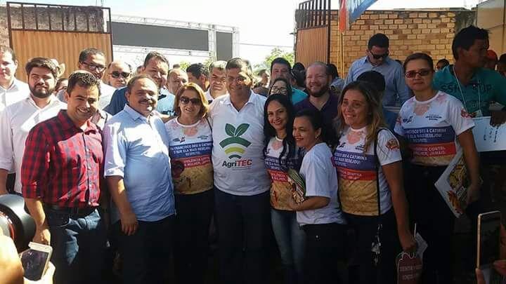 IMG 20170623 WA0013 - Deputado Rigo Teles não comparece em evento de Flávio Dino em Barra do Corda - minuto barra