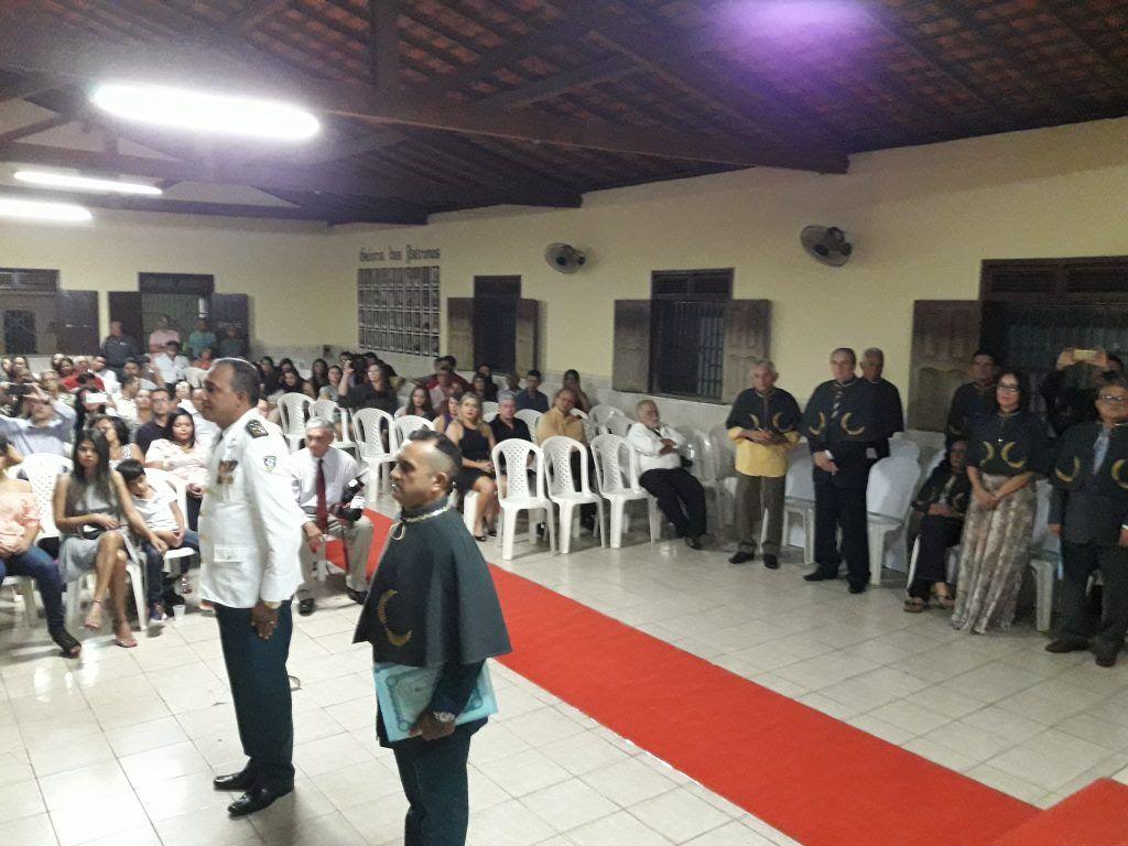 20170728 205113 1024x768 - Academia de Letras em Barra do Corda comemora 25 anos com a posse de um embaixador e um militar - minuto barra