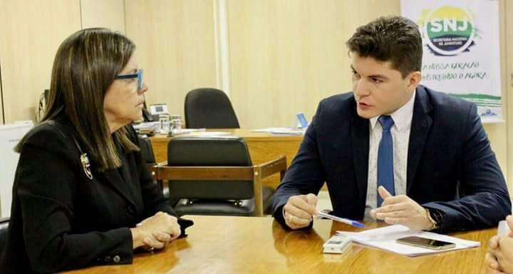 IMG 20170724 WA0023 - Brasília: Roseana Sarney se reúne com o Secretário Nacional da Juventude - minuto barra