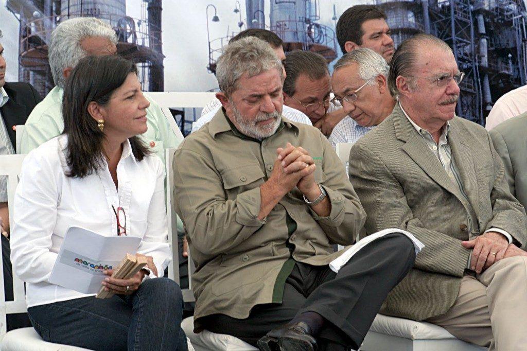 Lula Roseana e Sarney 1024x682 1024x682 - Porque? Lula virá ao Nordeste, e deixa o Maranhão fora de sua agenda - minuto barra