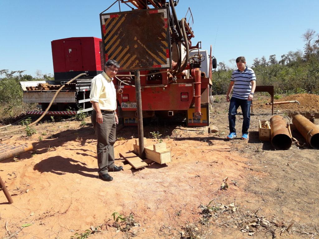 20170826 093434 1024x768 - BARRA DO CORDA: Superintendente da Codevasf fiscaliza perfuração do poço em Lagoa da Floresta - minuto barra