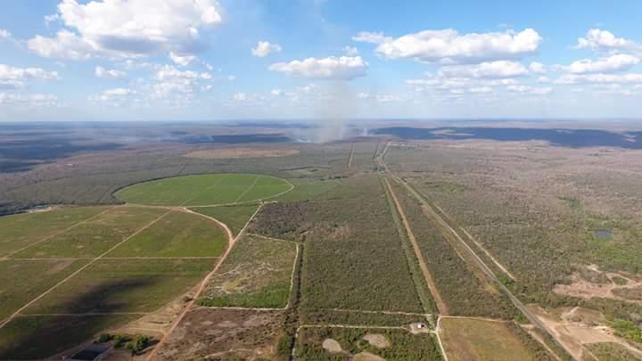 FB IMG 1504458329463 - Fotografia aérea, mostra o estrago que as queimadas provocam em Barra do Corda - minuto barra
