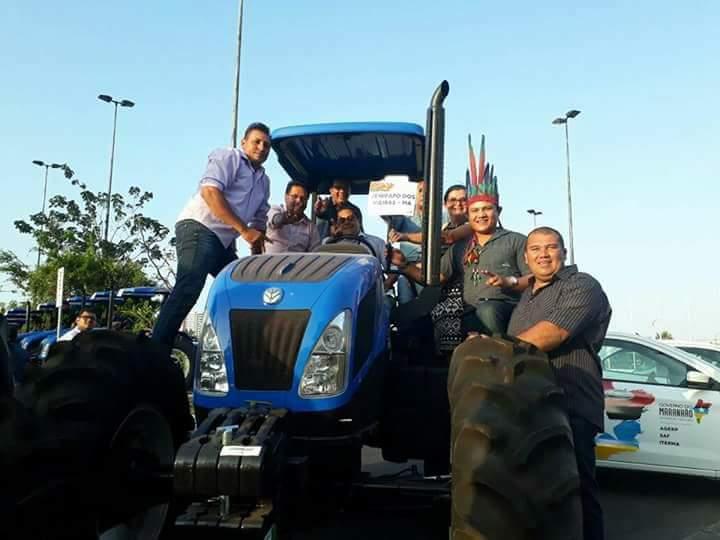 FB IMG 1506641795485 - Prefeito Moisés Ventura recebeu hoje em São Luís uma patrulha mecanizada - minuto barra