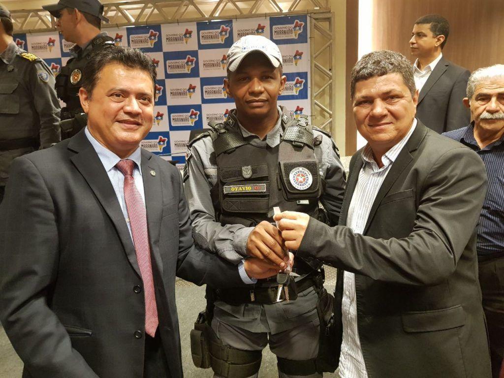 IMG 20170913 WA0034 1024x768 - Rigo Teles entrega viaturas para Santa Filomena, Arame e Feira Nova do Maranhão - minuto barra