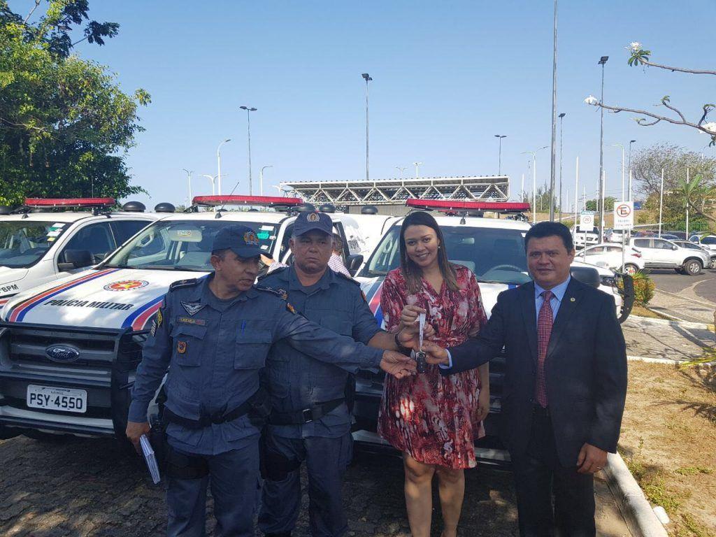 IMG 20170913 WA0035 1024x768 - Rigo Teles entrega viaturas para Santa Filomena, Arame e Feira Nova do Maranhão - minuto barra