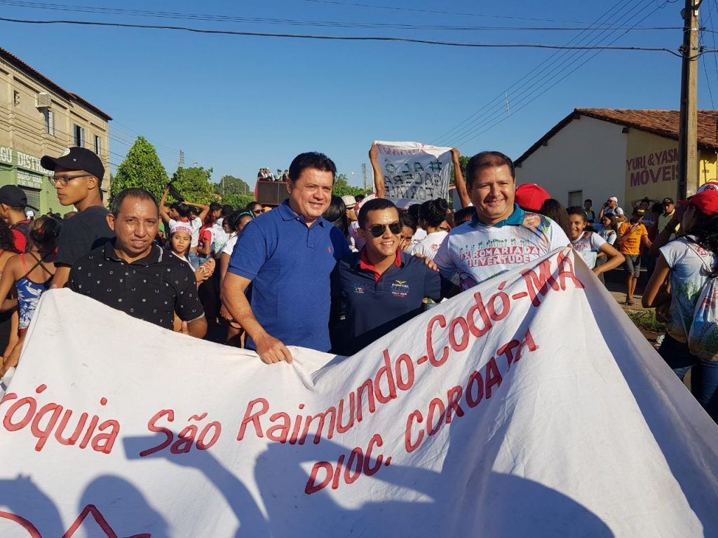 IMG 20170918 WA0001 1024x768 - Rigo Teles participa da IX romaria estadual da juventude em Barra do Corda - minuto barra