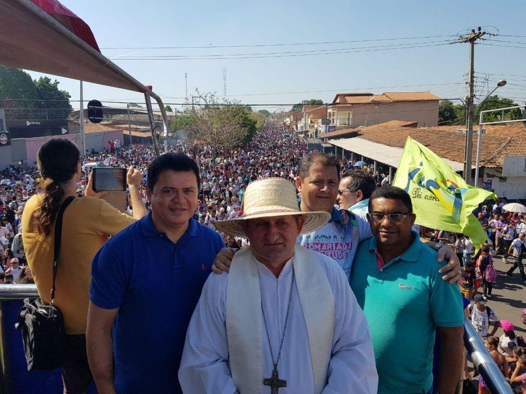 IMG 20170918 WA0002 1024x768 - Rigo Teles participa da IX romaria estadual da juventude em Barra do Corda - minuto barra