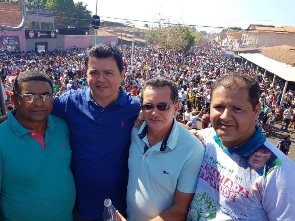 IMG 20170918 WA0004 1024x768 - Rigo Teles participa da IX romaria estadual da juventude em Barra do Corda - minuto barra