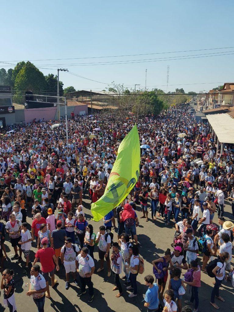 IMG 20170918 WA0005 768x1024 - Rigo Teles participa da IX romaria estadual da juventude em Barra do Corda - minuto barra
