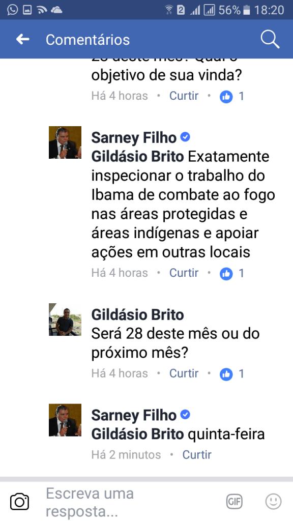 Screenshot 20170925 182007 576x1024 - AGENDA: Ministro Sarney Filho estará em Barra do Corda na quinta-feira - minuto barra