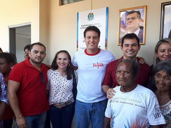 FB IMG 1508522930528 - Prefeito Eric Costa inaugura a primeira escola em 5 anos de governo - minuto barra