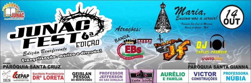 IMG 20171007 WA0038 1024x342 - VEM AÍ!!! JUNAC FEST edição 6 em São José do Mearim - minuto barra
