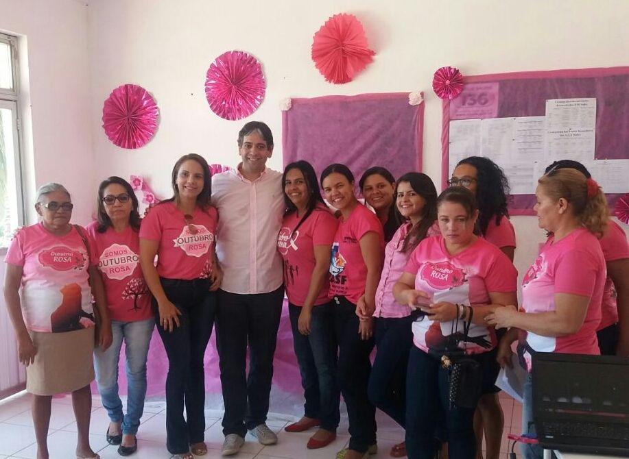 "IMG 20171025 WA0070 - JENIPAPO DOS VIEIRAS: Prefeitura intensifica campanha do ""outubro rosa"" - minuto barra"