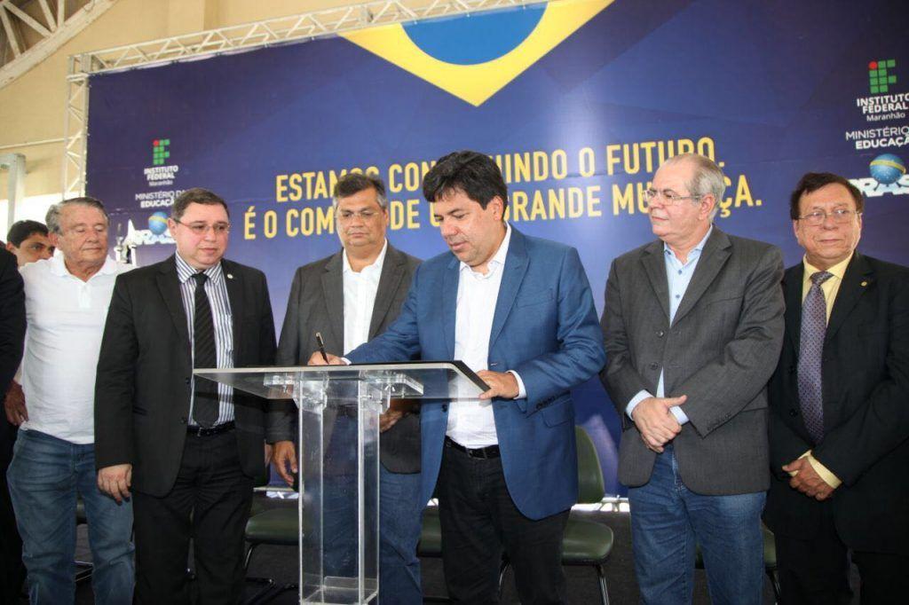 SÃO JOSÉ DE RIBAMAR INAUGURAÇÃO IFMA 02 10 2017 02 1024x682 - IFMA de Ribamar é mais um legado do governo Roseana - minuto barra
