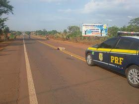 WhatsApp Image 2017 10 28 at 17.36.51 - Homem morre atropelado na rodovia federal Br-226 - minuto barra