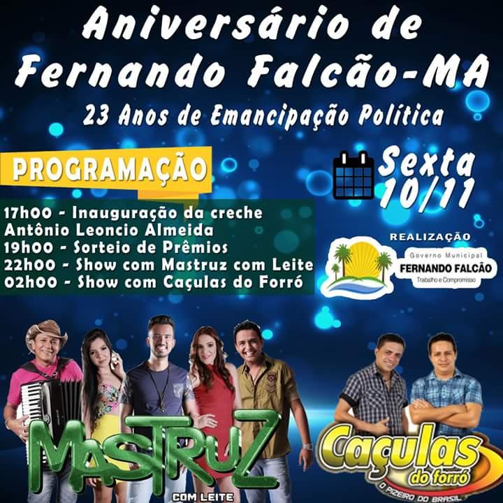 FB IMG 1510247032772 - 10/Nov: Banda Mastruz com Leite no aniversário de Fernando Falcão - minuto barra