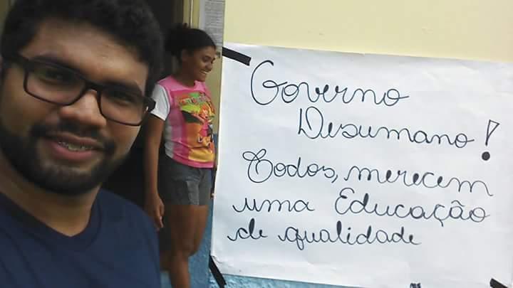 FB IMG 1510659004397 - URE de Barra do Corda continua ocupada por indígenas, em protesto contra governo Flávio Dino - minuto barra