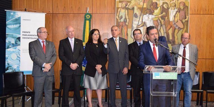 FRENTE PARLAMENTAR DA ODONTOLOGIA - Hildo Rocha integra diretoria da Frente Parlamentar da Odontologia - minuto barra