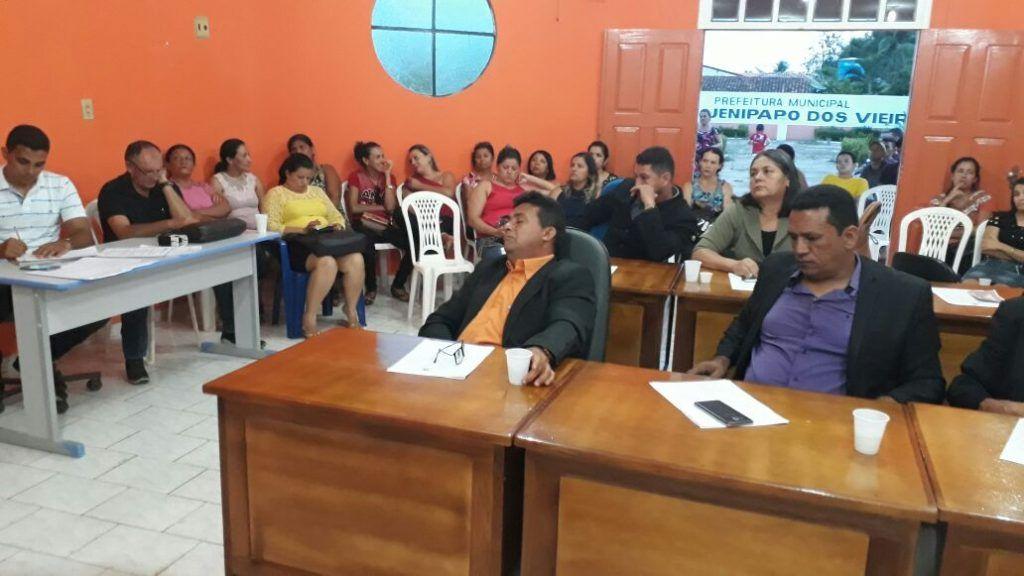 IMG 20171125 WA0010 1024x576 - Fracassa mobilização da coordenadora do SINPROESEMMA de Jenipapo dos Vieiras. - minuto barra