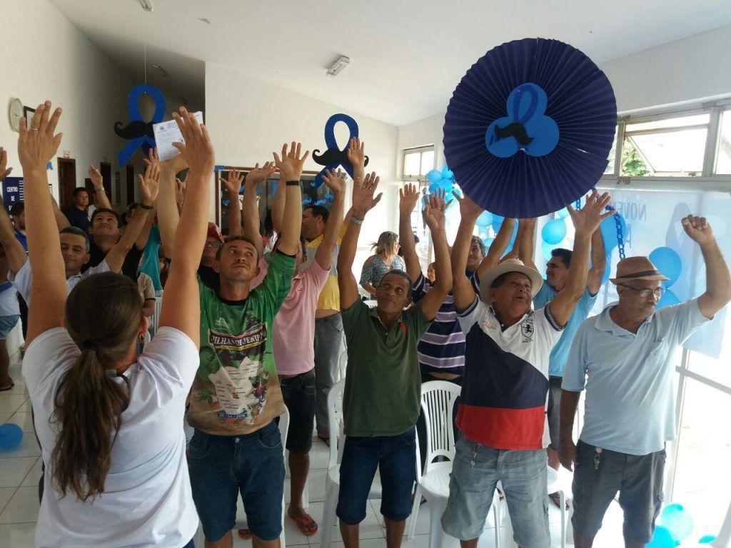 """2017 11 29 photo 00000371 1024x768 - Campanha no combate ao câncer de próstata, marca encerramento do """"novembro azul"""" em Jenipapo dos Vieiras - minuto barra"""