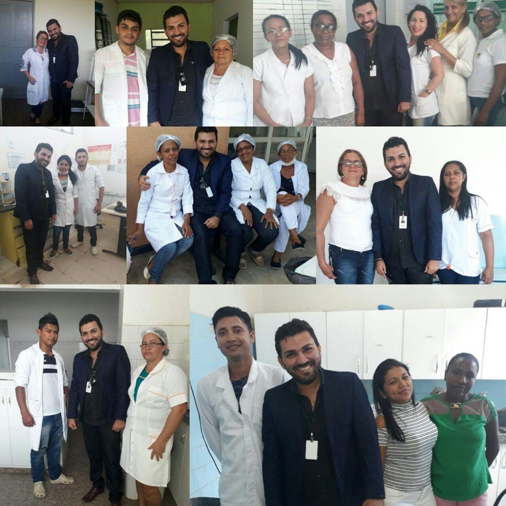 IMG 20171204 WA0030 1024x1024 - Dácio Viana, retorna às unidades de saúde, para agradecer os votos na eleição do COREN-MA - minuto barra