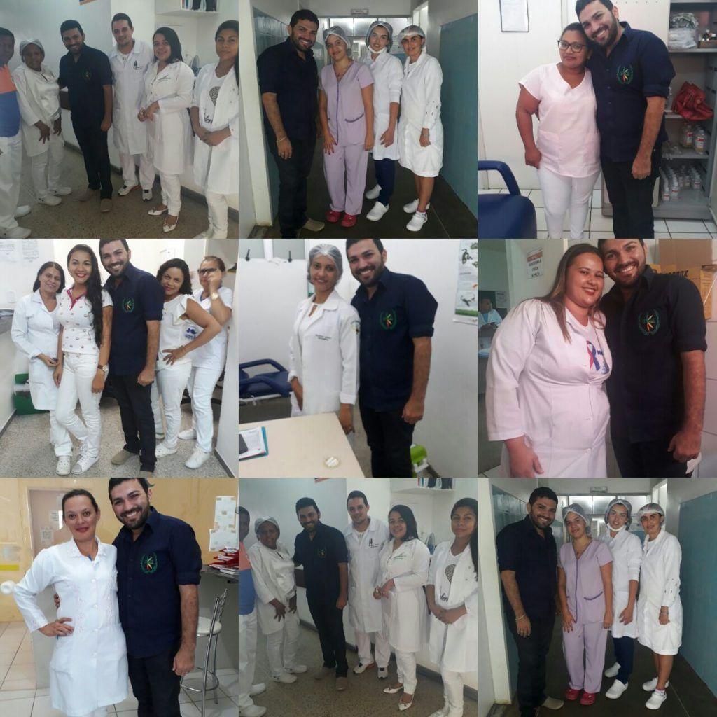 IMG 20171204 WA0031 1024x1024 - Dácio Viana, retorna às unidades de saúde, para agradecer os votos na eleição do COREN-MA - minuto barra