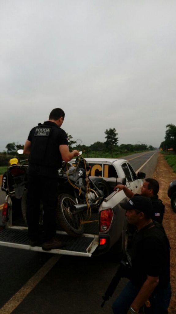 IMG 20180117 WA0006 575x1024 - Polícias Civil e Militar realizam grande operação na Br-226/reserva indígena - minuto barra