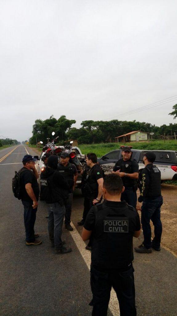 IMG 20180117 WA0010 575x1024 - Polícias Civil e Militar realizam grande operação na Br-226/reserva indígena - minuto barra