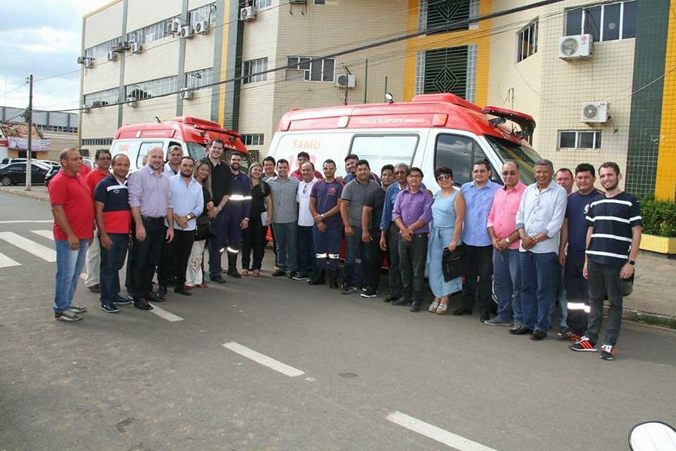 IMG 20180117 WA0054 - Ministério da Saúde destina duas ambulâncias para o Samu em Barra do Corda - minuto barra