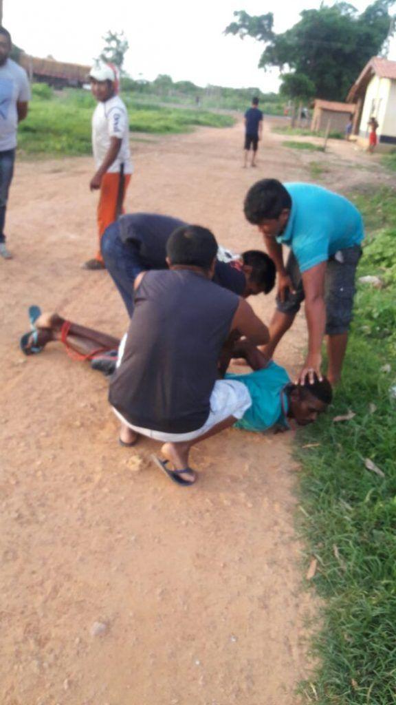 IMG 20180117 WA0099 576x1024 - URGENTE!! Índios prendem assaltantes na Br-226 entre Barra do Corda e Grajaú - minuto barra