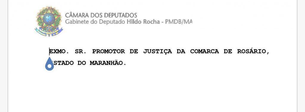 """IMG 20180118 WA0043 1024x377 - URGENTE!! Hildo Rocha oferece ao MP """"Notícia de Fato"""" contra Duarte Júnior do Procon - minuto barra"""