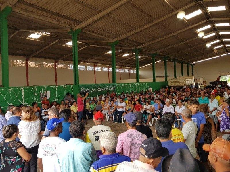 REUNIÃO 2 - Rigo Teles promove grande reunião com aliados em Barra do Corda - minuto barra