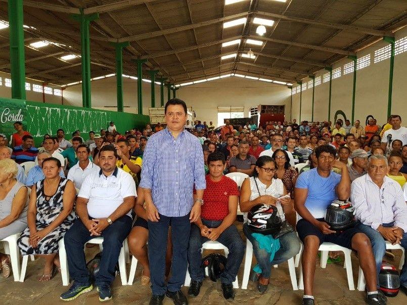 REUNIÃO1 - Rigo Teles promove grande reunião com aliados em Barra do Corda - minuto barra