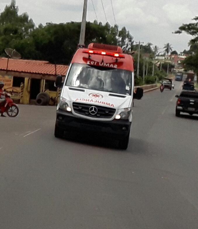 IMG 20180201 WA0052 - Ambulâncias do Samu de Barra do Corda correm o risco de serem apreendidas pela PRF por falta de emplacamento - minuto barra