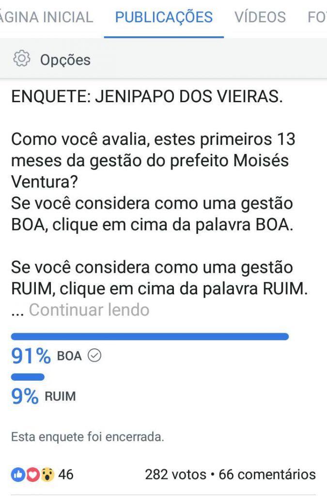 IMG 20180206 WA0084 675x1024 - ENQUETE: 91% consideram a gestão do prefeito Moisés como BOA - minuto barra