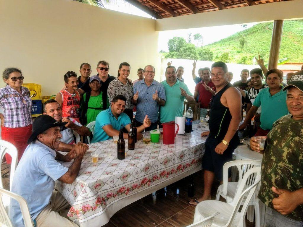 IMG 20180210 WA0044 1024x768 - Deputado Hildo Rocha e Aristides Milhomem visitam Jenipapo dos Vieiras - minuto barra