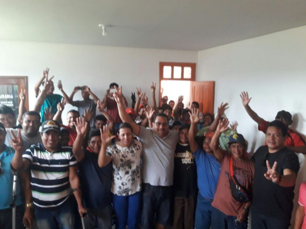 IMG 20180217 WA0087 1024x768 - Prefeito Moisés Ventura se reúne com lideranças indígenas e garante poço artesiano - minuto barra