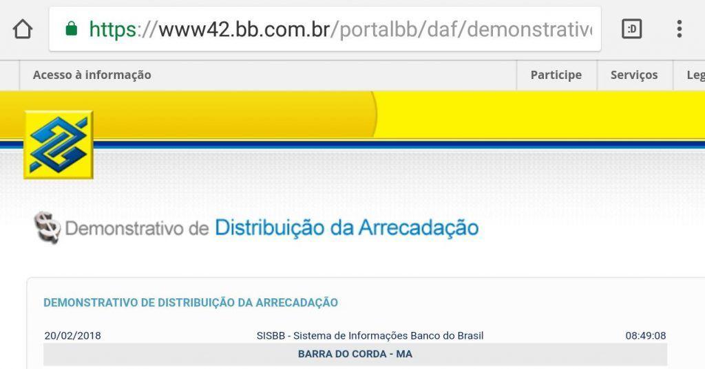 IMG 20180220 WA0007 1024x537 - PREVISÃO ÓTIMA!! Prefeito Eric Costa receberá nos cofres da prefeitura em fevereiro em torno de 15 milhões de reais - minuto barra