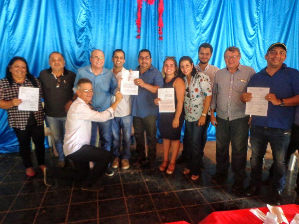 IMG 20180224 WA0107 1024x768 - Prefeito Moisés Ventura, recebe em Jenipapo dos Vieiras o deputado Hildo Rocha e o Secretário Nacional da Saúde Indígena - minuto barra