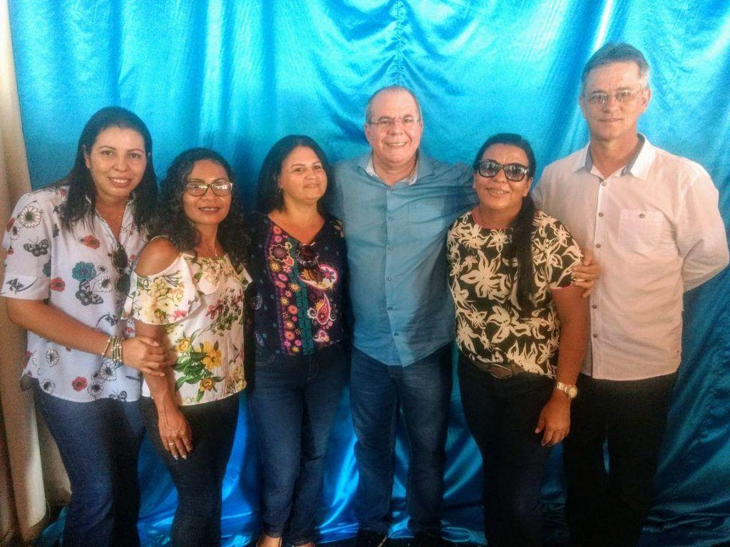 IMG 20180224 WA0111 1024x768 - Prefeito Moisés Ventura, recebe em Jenipapo dos Vieiras o deputado Hildo Rocha e o Secretário Nacional da Saúde Indígena - minuto barra